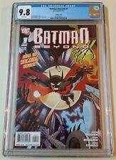 Batman Beyond (2011) #1 CGC 9.8 1:10 Darwyn Cooke Variant