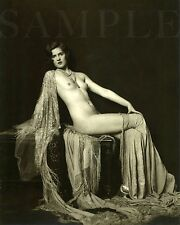 Vintage 1900s Nude Women Picture 8X10 Fine Art Print Photo Antique Old Burlesque