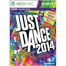 JUST DANCE 2014 XBOX 360 KINECT NEW! KATY PERRY, PITBULL, JUSTIN BIEBER KISS YOU