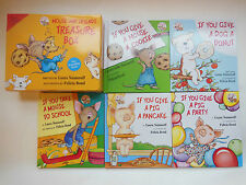 If You Give a Mouse a Cookie Lot 5 Hardcover Children's Books Laura Numeroff NEW