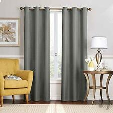 Eclipse Nikki Grommet Blackout Curtain Panel, 95-Inch, Smoke (1 Panel)