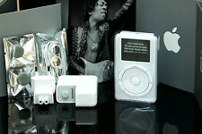 ULTRA RARE JIMI HENDRIX iPod Classic 1st Generation in ORIGINAL BOX + Brochure