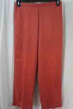 Alfred Dunner Pants Sz 14 Paprika Proportioned Medium Elastic Waist Dress Slack
