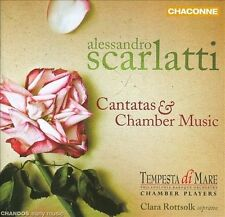 Alessandro Scarlatti: Cantatas and Chamber Music CD NEW