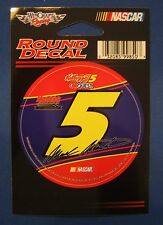 "MARK MARTIN #5 KELLOGG'S CARQUEST ROUND DECAL 3""x 3"" NASCAR NEW WINCRAFT RACING"
