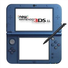 NEW Nintendo 3DS LL XL Metallic Blue Console System Japan Ver.2014 Free Shipping