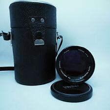 Vivitar (KOMINE) 135mm 1:2 .8 Auto Teleobjetivo Lente de retrato.. muy fuerte.
