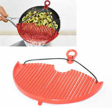 Excellent Houseware Plastic Pan Pasta Vegetable Strainer Expandable Strain Large