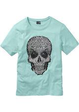 Auffallendes T-Shirt mit angesagtem Foliendruck Gr.44/46