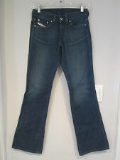 DIESEL INDUSTRY BRAND BOOT CUT JEANS~BUTTON/ZIP CLOSURE~SZ 26~NICE