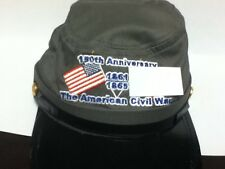 REPRODUCTION GRAY CIVIL WAR 150TH CHILDRENS KEPI SIZE ADJUSTABLE NEW