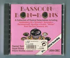 Daniel Smith & Royal Philharmonic Orch. cd BASSOON BON-BONS © 1986 SANYO JAPAN