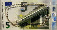 New Sterling Silver emergency 5 Euro note pendant & chain
