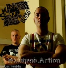 SKINBOISS – SKINHEAD ACTION LP punk oi!