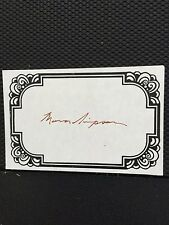 Mona Simpson, Author Signed Bookplate