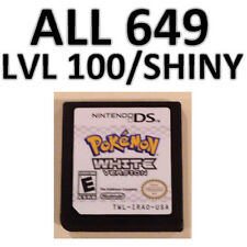 Pokemon White Game Unlocked All 649 Zoroark Event Shiny DS Lite DSi 2DS 3DS XL