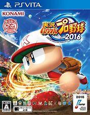 Used PS Vita jikkyou Powerful Pro Baseball 2016 (without benefits) Import Japan
