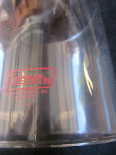 LANTERN PART. PYREX GLOBE IN RED LETTERS MADE IN USA FOR MODELS 220, 228, 290.