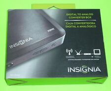 Insignia Digital to Analog TV Converter Box, Antenna Required, NS-DXA2, Open Box