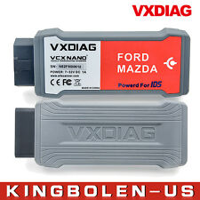 VXDIAG VCX NANO for Ford/Mazda 2 in 1 with IDS V100 Code Reader Scanner Unlocked