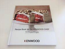 Kenwood Recipe Book for the Kenwood Chef - 70 Original Recipes - NEW - KW675350