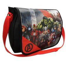 Avengers  Character Messenger Bag School Kids Infant