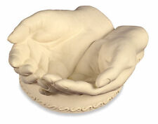 OPEN HANDS Trinket Dish in Gift Box Packaging - Wonderful Detail!! - God's Hands