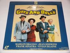 LaserVision LaserDisc ~ Guys and Dolls ~ PAL ~ Double Disc ~ CBS FOX Video