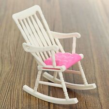 Furniture Rocking Chair Living Room for Barbie Doll Dollhouse Accessories Toy