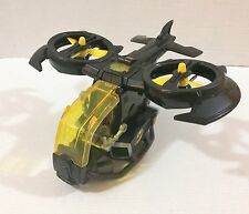 Fisher-Price Hero World Voice Comm Motion Max Batwing Helicopter Sounds!