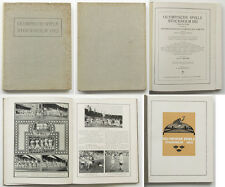 Olympic Games Olympische Spiele 1912 original Bericht German Report Olympia