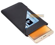 Etui Housse POUCH CASE Card Noir compatible HTC One A9s