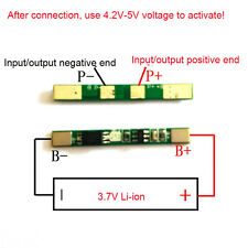 5PCS 1S 3.7V 3A 18650 lithium li-ion BMS PCM battery charger protection board