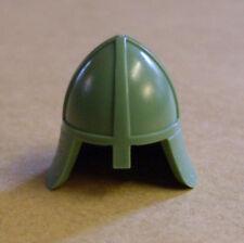 Lego caballero casco verde (casco caballero accesorios figuras castillo Castle arena Green) nuevo
