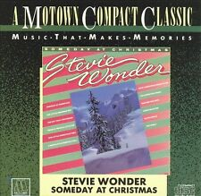 Stevie Wonder: Someday At Christmas  (CD, c. 1967, Motown) NEW