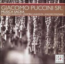 Giacomo Puccini, Sr.: Musica Sacra (CD, Mar-2006, Arte Nova)