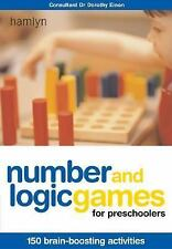 Number and Logic Games for Preschoolers: 150 Brain-Boosting Activities-ExLibrary