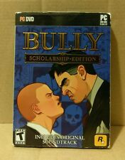 Bully: Scholarship Edition (PC Game, 2008) Complete With Slipcover EUC