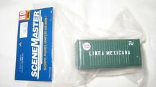 Walthers HO 20' Rib Side Container Linea Mexicana #949-8008 New in Package