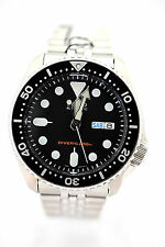 SEIKO Men Automatic SKX007K2 Diver Automatic Stainlrss Steel Band Watch