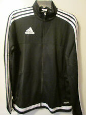 Adidas Tiro 15 Training Jacket Black Soccer Futbol Size Adult Large NWT $65