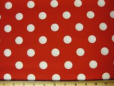 """Nickle Quarter Polka Dot Fabric BTY yard 1 UPICK color quilting cotton 7/8"""" JAM"""