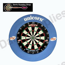 Unicorn Eclipse HD2 Dartboard & Unicorn Striker Surround in Blue
