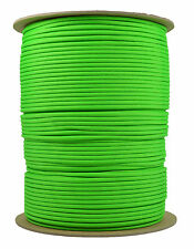 Neon Green - 550 Paracord Rope 7 strand Parachute Cord - 1000 Foot Spool