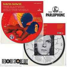 RSD 2016 David Bowie Man Who Sold The World + 40th anniv TVC15 Picture Discs.