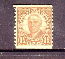 #686  1 1/2 CENT HARDING        FANCY CANCEL   USED     c