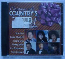 CHRISTMAS WITH COUNTRY'S FINEST VOLUME 1 CD KRB MUSIC FREE 1ST CLASS SHIPPING