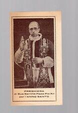 santino preghiera sua santita' papa pio XIIà per l anno santo