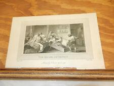 1792 Antique Print//THE ESCAPE OF GROTIUS