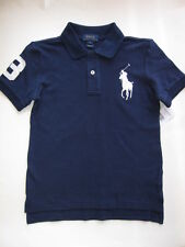 NWT Ralph Lauren Boys Big Pony Navy Polo Size 10-12